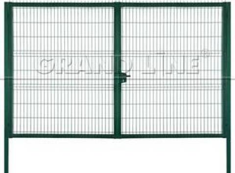 Распашные ворота для панельных ограждений