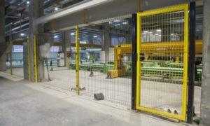 Ограждения 3D для промышленных объектов